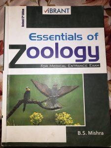 Zoology book for medical entrance