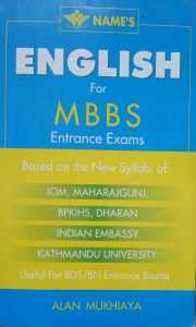 English for MBBS Entrance Exam
