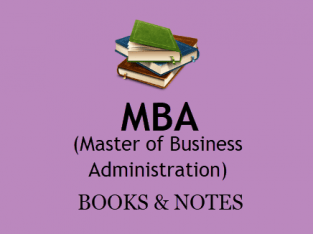 MBA Foreign Writers Photocopied Books