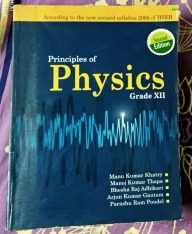 Principles of Physics – XII