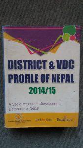 District & VDC Profile of Nepal