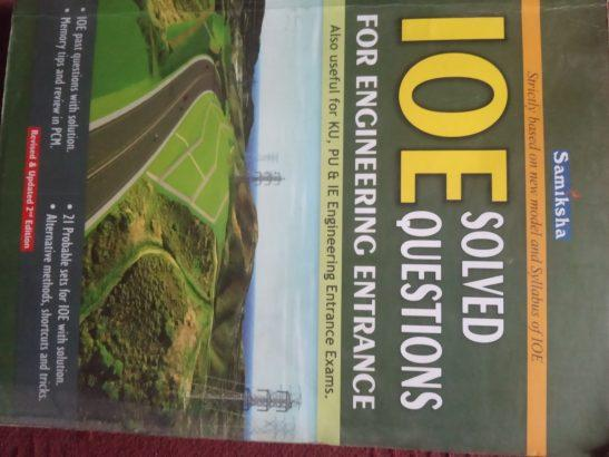 IOE SOLVED QUESTIONS