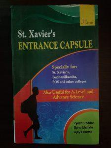 St.xaviers entrance capsule
