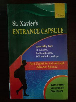 St.xaviers entrance capsule