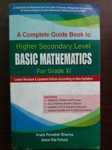 Basic mathematics- Grade 11 guide book