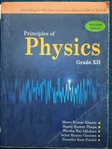 Principle of physics – XII