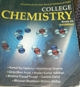 College chemistry class 12