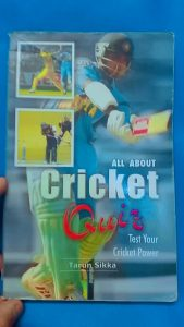 Cricket Quiz !! for all Cricket lovers .